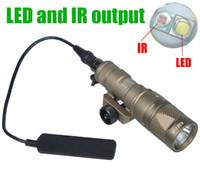 Tactical SF M300V-IR Scout Light LED Gun Свет белый свет и ИК-выход Охотничья винтовка M300 фонарик