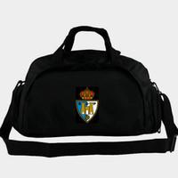 SDP spor çantası Sociedad Deportiva Ponferradina torbaları futbol kulübü sırt çantası Futbol rozeti bagaj Spor omuz yün Açık sapan paketi