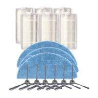 Фильтр боковая щетка, тряпка, пылесос ППК запасные части для ILIFE V5SPRO V50 с