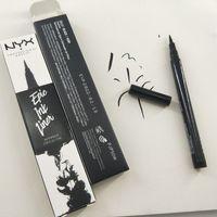 NYX epica Ink Liner NYX matita eyeliner nero NYX epica Ink Liner Headed matita eyeliner di trucco di colore nero occhio liquido fodera in occhi Stock DHL