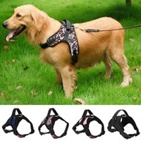 Canvas CottonDog Harness Vest for Dogs Breathable Walking Tr...