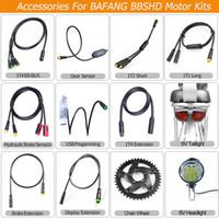 EB-BUS Kablo İçin BBSHD Programlama Bafang Motor Parçaları Bisiklet ışık Hidrolik Fren Vites Sensörü Ekran Fren Hız Uzatma Kablo USB