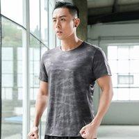 Распродажа мужской футболки пара работает бег футболка с короткими рукавами для бега трусцой спортивной женщины