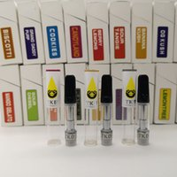 TKO Extracts Package Vapor 0. 8ml 2. 0mm*4 Oil Cartridges E- Ci...