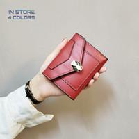Mappe der Frauen All-Gleiches Krokodilledertasche Retro koreanische Kurzschluss-Art Multi-Karten-Kasten-Dame-Geldbeutel Geldtasche Kreditkartenhalter