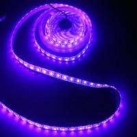 CRESTECH свет УФ светодиодные полосы 1 м водить 60leds светодиодные полосы водонепроницаемый IP65 с DC 12V питания для сцены, ночная рыбалка.и т.д.