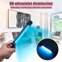 110V 11W portátil de mano ultravioleta UV Desinfección Lámpara de encendido Longitud del cable Reglamento 1.1M estadounidenses negro esterilización de la lámpara