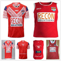 2019 2020 World Cup Mate Tonga Home Red Rugby Jersey Sevens Sevens Olympic Shirt 19 20 Lega National League Pacific test Jerseys Singlet S-XXXL