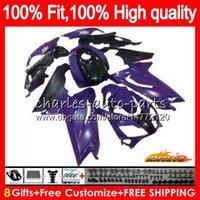 Pour injection Aprilia RS4 RS 125 R RSV125 nouveau violet RS125R RS125 69NO.81 RS125 06 07 08 09 10 11 2006 2007 2008 2009 2010 2011 carénages