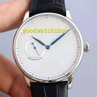탑 그랜드 HEURE의 분 오닉스 남성 시계 엑스트라 씬 시계 손목 시계 스위스 2824-2 자동 기계 사파이어 316L 스틸 방수