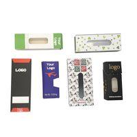 OEM ODM Zip Block Bag Packaging Made Custom Made Vape Cartridges Vuoto Borse del pacchetto Vuoto Penna vaporizzatore Penna Pacchetti regalo Box Blister