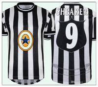 Retro 97 99 SHEARER 9 da calcio nuove maglie castello Barnes 10 SPEED 11 GILLESPIE 1997 1999 casa Classic Vintage Football Shirt Calcio 20