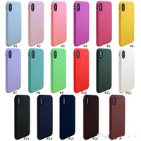 New cell phone case for iphone XS max XR X 6S 7 8 plus TPU s...