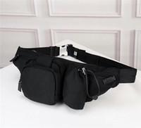 الجملة الجديدة الرجال والنساء حقيبة النسيج مظلة قماش حزام الصدر متعدد الوظائف جيب الترفيه الموضة قدرة كبيرة في الهواء الطلق حقيبة رياضية