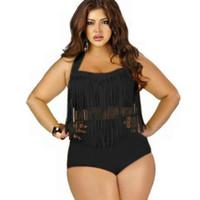 Высокая талия бикини Set Plus Размер Купальники Женщины Купальники Холтер Sexy Push Up бикини 2020 Mujer купальный костюм пляж Swim Wear Black