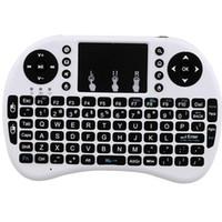 Mini Rii I8 Fly Air ratón remoto de luz de fondo del teclado de control remoto inalámbrico de 2,4 GHz para S905w S912 TV Box 2020 Nuevo