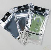 Acessórios de Moda Universal Zip bloqueio móvel celular caso saco de embalagem saco de fone de ouvido de varejo de embalagem Pouch para iphone 11 Pro Max X XS XR
