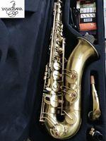 Giocare professionalmente Tenor Yanagisawa T-992 di alta qualità B Tenor Sax Music Antique Saxophone di rame Trasporto libero