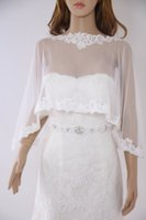 Vintage style Bridal Cape veil Sewed Delicate beaded Lace, I...