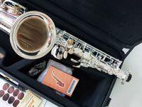 YANAGISAWA A-992 Pirinç Alto Saksafon Gümüş Kaplama Eb Ton Bemol Marka Müzik Aletleri Sax Kılıf Ücretsiz Kargo ile