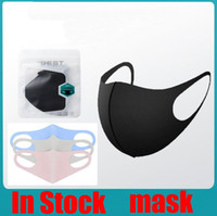 Maschere PM2.5 anti-inquinamento Mask Bocca Maschere anti-polveri respirabili Earloop riutilizzabile lavabile