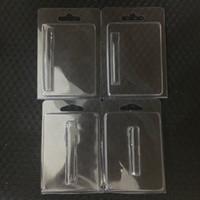 CLAMSHELL Blister Emballage OEM Personnalisé Logo Personnalisé Carton PVC Retail Vape Cartouches Emballage pour 1ML 0.5ml Chariots TH205 ECIG Vaporisateur Piliers à huile