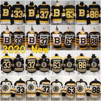 새로운 보스턴 Bruins 찰리 McAvoy Jersey Jake Debrusk Zdeno Chara Patrice Bergeron Brad Marchand David Pastrnak Tuukka Rask Torey Krug Hockey