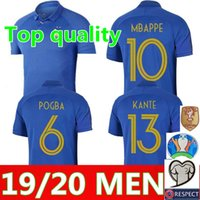 100th France MBAPPE GRIEZMANN POGBA jerseys 2019 anniversary...