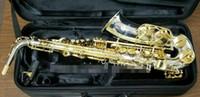 كوكب المشتري JAS 1100SG الجديد إب ألتو ساكسفون النحاس والنيكل مطلي الجسم الذهب الطلاء مفتاح E-مسطحة الآلات الموسيقية ساكس شحن مجاني