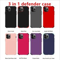 Matt finish 3 in 1 Armor Cases Protective Cover Case For iph...