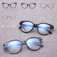 الأزياء زجاج عادي النظارات نظارات اليورو الأمريكية الضوء PC مريح إطار نظارات نظارات لون مختلف 0003GLS بالجملة