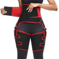نساء الخصر دعم أنثى السلامة الرياضة الرياضة ملابس 50٪ ارتفاع الخصر المدربين بات ارفع رياضي اكسسوارات التعرق جيد الفخذ مطاطا حزام