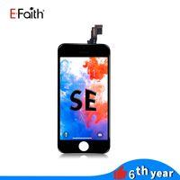 EFaith أسود / أبيض شاشة LCD العرض للحصول على 5SE شاشة استبدال قطع غيار محول الأرقام مع شركة دي إتش إل الحرة