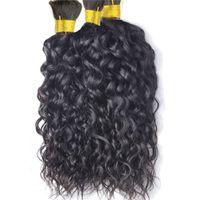 "Brasiliani Wave Wave Human Hair Bulk 9A Heay e Wavy Human Human Hair per intrecciare 16 ""-28"" morbido"