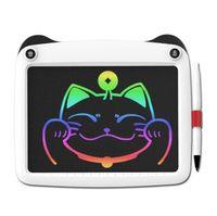 화려한 9 인치 팬더 휴대용 LCD 쓰기 태블릿 전자 메모장 그리기 그래픽 태블릿 보드 메모 패드 스타일러스 펜 / CR2020 배터리