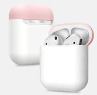 Custodia per auricolare per Apple AirPods Custodia per auricolari Bluetooth wireless per cuffie True Air Cuffie protettive Accessori AirPod