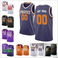Printed Custom Deandre 22 Ayton 3 Kelly Oubre Jr 20 Jackson Devin 1 Booker Basketball 25 Mikal Bridges Ricky 11 Rubio Jerseys