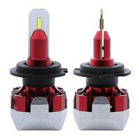 Mini F6 Car LED Headlight H4 led H7 H1 H11 9005 9006 9012 Lampada lampadina auto