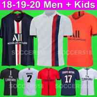 Футбольные майки PSG AIR JORDAN 2019 2020 MBAPPE 19 20 Футбольные майки Paris Saint Germain KIDS NEYMAR JR RABIOT CAVANI DI MARIA KIMPEMBE FOOTBALL SHIRTS KIDS KIT UNIFORMS