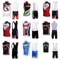 Stile estate uomo Pro Team Merida Cycling Abbigliamento Bici Abbigliamento Bici Abbigliamento Senza maniche Gilet Bib Shorts Set Jersey traspirante Quick Dry H040926
