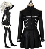 Kukucos Jung Womens Suit Anime Tokyo Ghouls Fight Leather Uniform Cosplay Costume Femme Robe de soirée Halloween