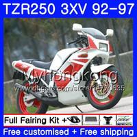 Kit per YAMAHA TZR 250 3XV YPVS TZR-250 92 93 94 95 96 97 bianco rosso caldo 245HM.13 TZR250RR RS TZR250 1992 1993 1994 1995 1996 1997 Carena