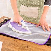 Nueva alta temperatura resistencia a la quemadura de calor cojín del aislamiento de la estera de ropa doméstica malla protectora cubierta de tela de tabla de planchar