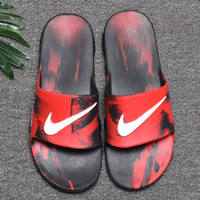 Wholesale Summer men Breathable Comfortable Slippers with ai...