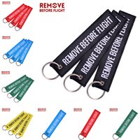 Remove Before Flight Luggage Tag Keychain Air Pendant Tube Label Nice Canvas Specile Souvenir Keychains Ring Metal Circle Luggage E22101