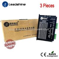 3 pezzi spedizione gratuita genuino Leadshine Dm856 2 fasi Dsp Digital Stepper Drive con tensione di ingresso max 80 Vcc E Max 5.6a