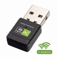 600Mbps Mini USB Wifi Adapter 2. 4G 5G Dual Band Free Driver ...