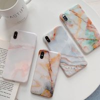 Vintage Marble Pattern Phone Case for IPhone 11 Pro Max XS X...