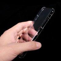 Şeffaf Şeffaf Sert Plastik Çanta İçin iphonePhone X XS Max XR Kristal Ultra Parlak Geçmeli Kılıf Arka Kapak İçin iphonePhone 6 6S 7 8 Artı