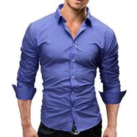 Дизайнерские мужские рубашки весна 2019 модные футболки с длинным рукавом в клетку мужская верхняя одежда с открытым стежком повседневные рубашки топы одежда 5 цветов M-2XL